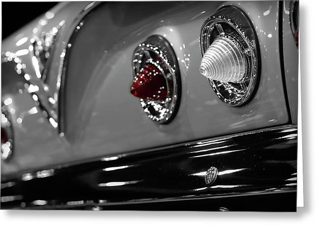 Chevrolet Trunk Greeting Cards - 1961 Chevrolet Impala Greeting Card by Gordon Dean II