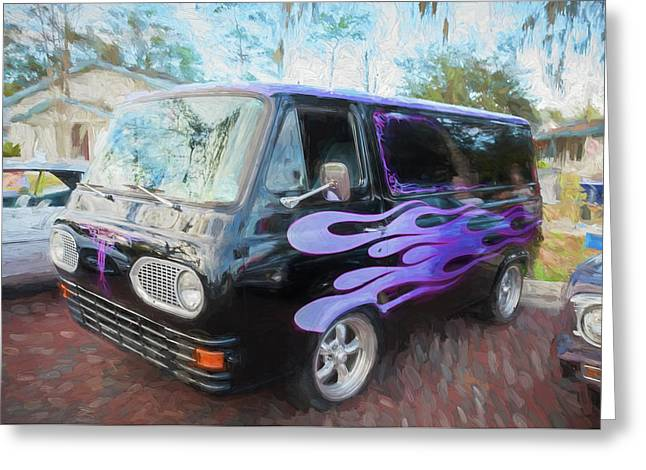 1962 Ford Econoline Van  Greeting Card by Rich Franco