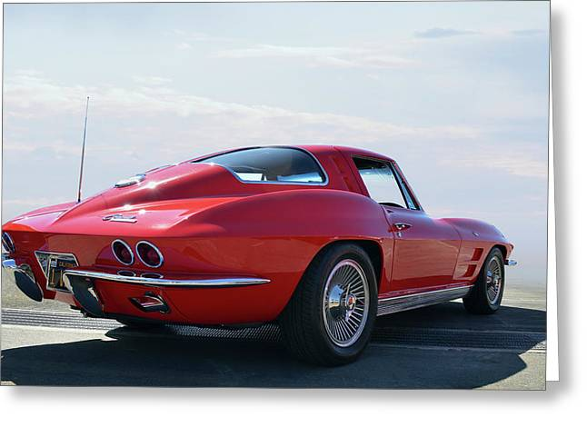 1963 Corvette Coupe Greeting Card