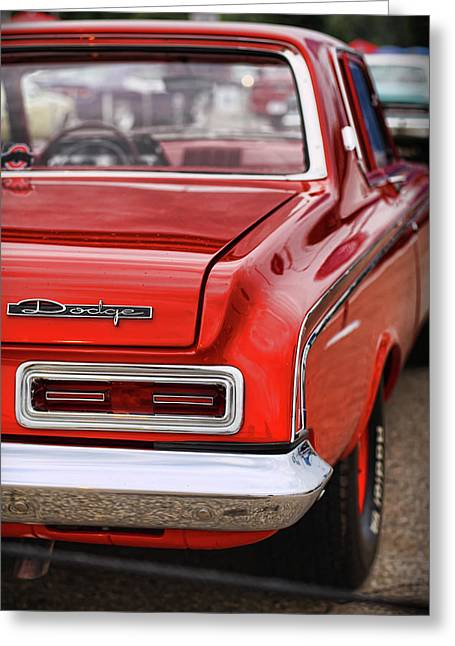 Dragway Greeting Cards - 1963 Dodge 426 Ramcharger Max Wedge Greeting Card by Gordon Dean II