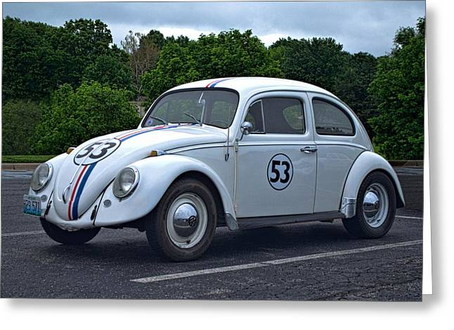 1963 Vw Herbie  Greeting Card by Tim McCullough