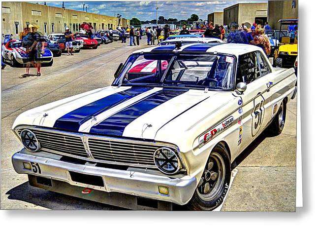 1964 Ford Falcon #51  Greeting Card
