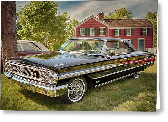 Greeting Card featuring the photograph 1964 Ford Galaxie 500 Xl by Susan Rissi Tregoning