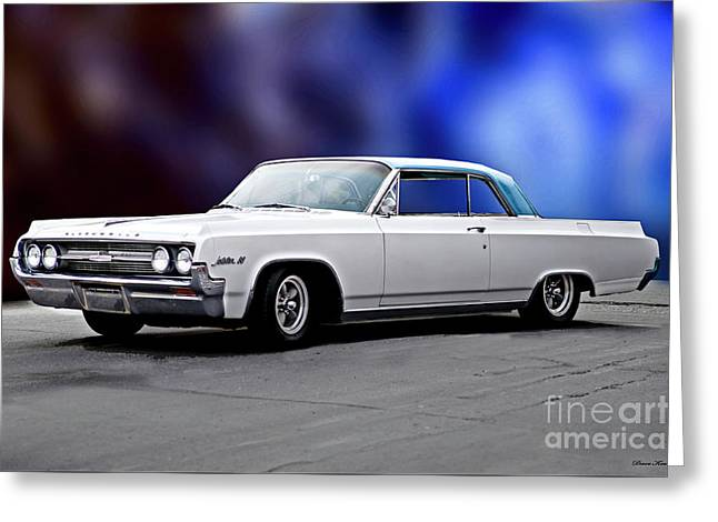 1964 Oldsmobile Jetstar 88 II Greeting Card by Dave Koontz