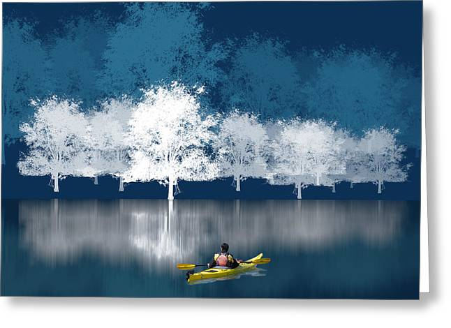 Waterscape Greeting Cards - 1964 Greeting Card by Peter Holme III