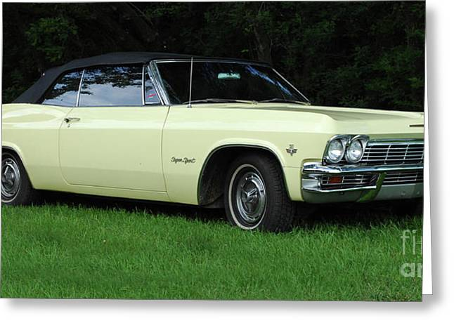 1965 Chevrolet Impala Ss Greeting Card by Bob Christopher