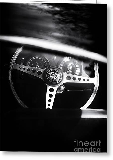dashboard greeting cards page 3 of 32 fine art america 1955 Ford Thunderbird Steering Wheel Made Smaller 1965 e type greeting card