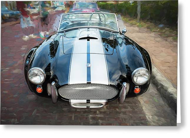 1965 Ford Ac Cobra Painted    Greeting Card