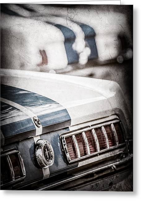 1965 Ford Shelby Mustang Gt 350 Tail Light -1037ac Greeting Card by Jill Reger