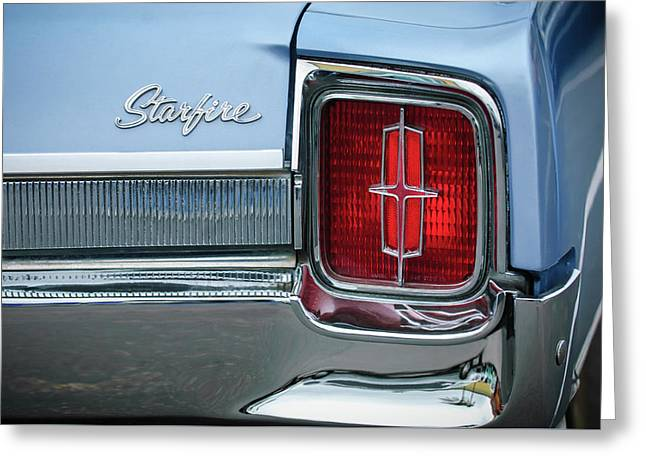 1965 Oldsmobile Starfire Taillight Emblem Greeting Card by Jill Reger