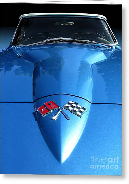 1966 Corvette Convertible Greeting Card