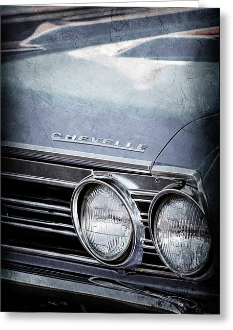 1967 Chevrolet Chevelle Ss Super Sport Emblem -0413ac Greeting Card