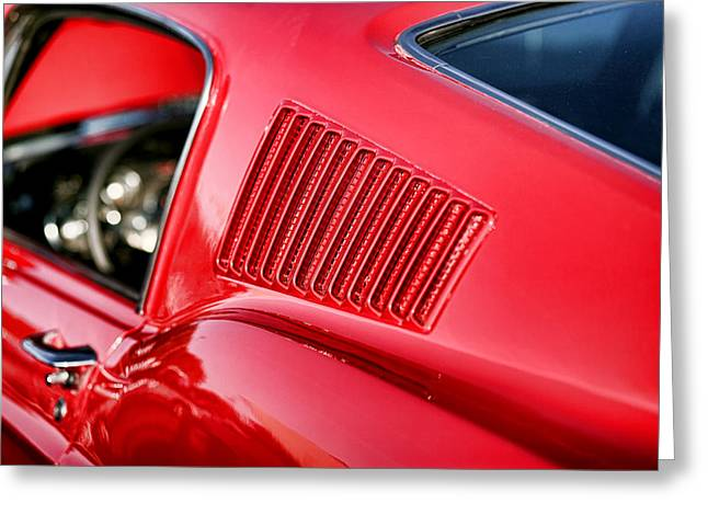 1967 Ford Mustang Gt  Greeting Card by Gordon Dean II