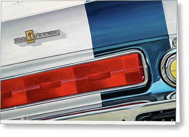 1967 Shelby Gt500 Greeting Card