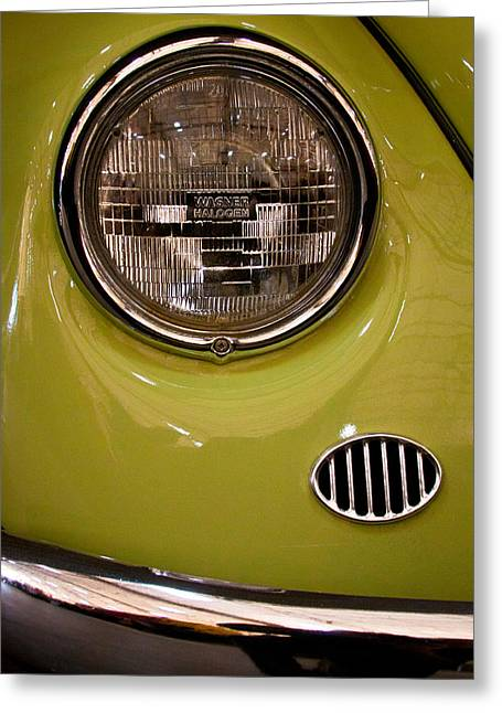 67 Greeting Cards - 1967 Volkswagen Beetle 2 Door Sedan Greeting Card by David Patterson