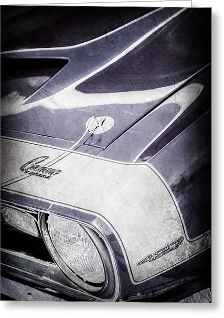 1968 Chevrolet Yenko Super Camaro Emblem -0653ac Greeting Card by Jill Reger