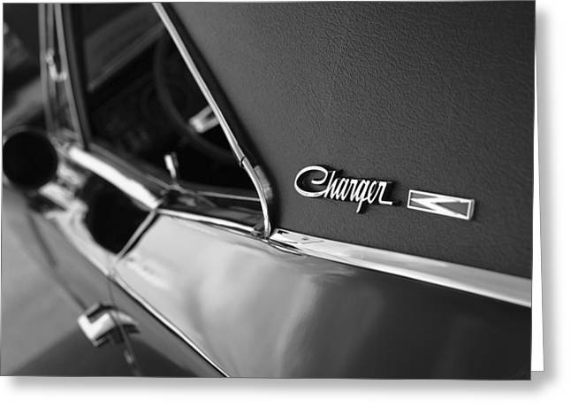 1968 Dodge Charger R/t Greeting Card by Gordon Dean II