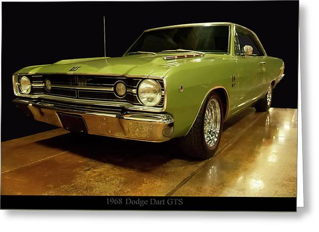 Greeting Card featuring the photograph 1968 Dodge Dart Gts by Chris Flees