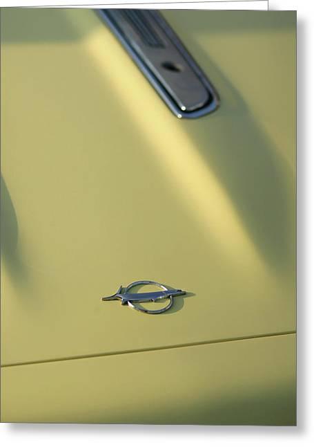 1968 Plymouth Barracuda Greeting Card by Gordon Dean II