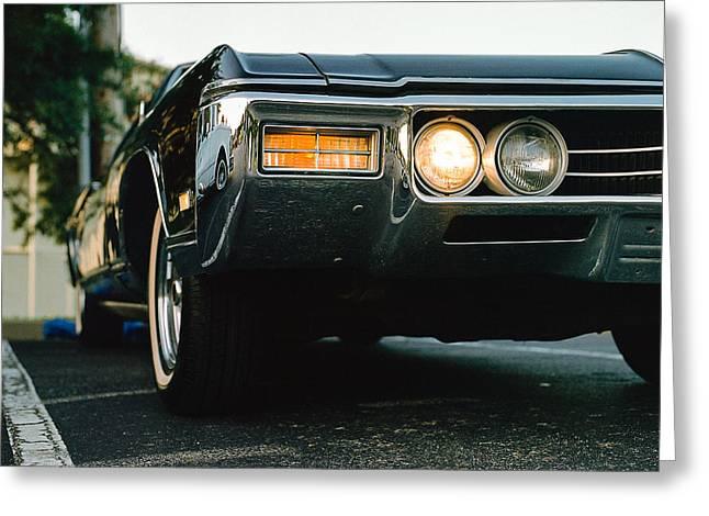 1969 Buick Riviera Greeting Card by Jon Woodhams