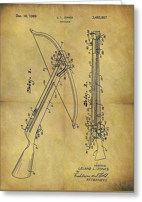 1969 Crossbow Patent Greeting Card