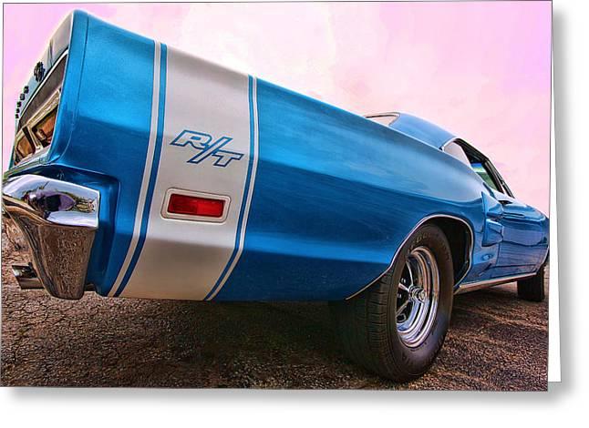 1969 Dodge Coronet Rt Greeting Card by Gordon Dean II