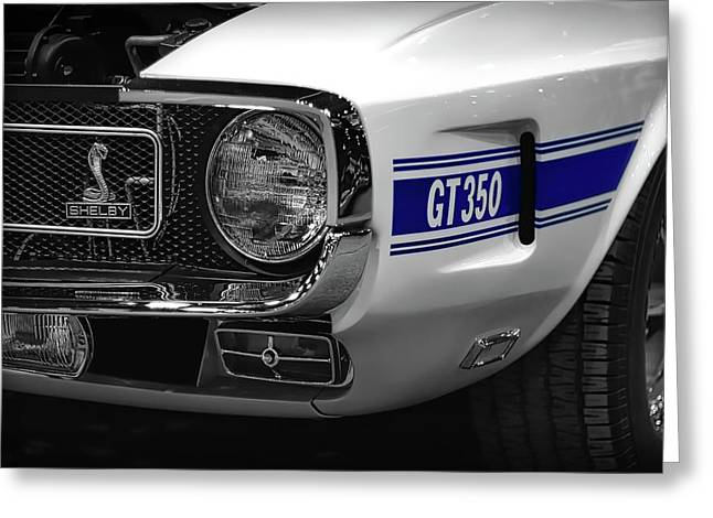 Indy Car Greeting Cards - 1969 Ford Mustang Shelby GT350 1970 Greeting Card by Gordon Dean II