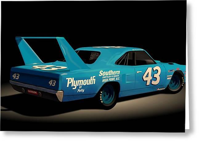 1970 Superbird Richard Petty Greeting Card