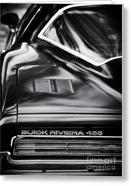 1971 Buick Riviera 455 Greeting Card by Tim Gainey