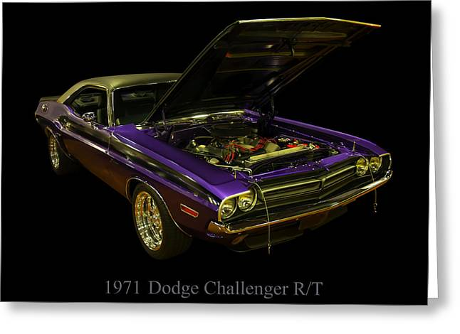 1971 Dodge Challenger Greeting Card by Chris Flees