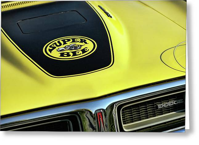 1971 Dodge Charger Super Bee Greeting Card by Gordon Dean II