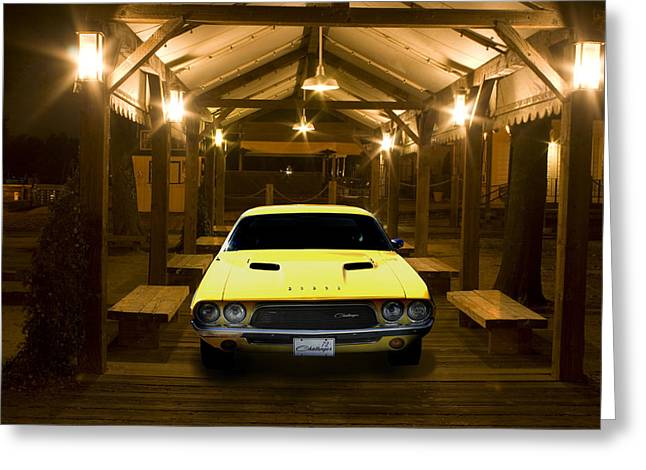 Greeting Card featuring the photograph 1972 Challenger by Michael Cleere