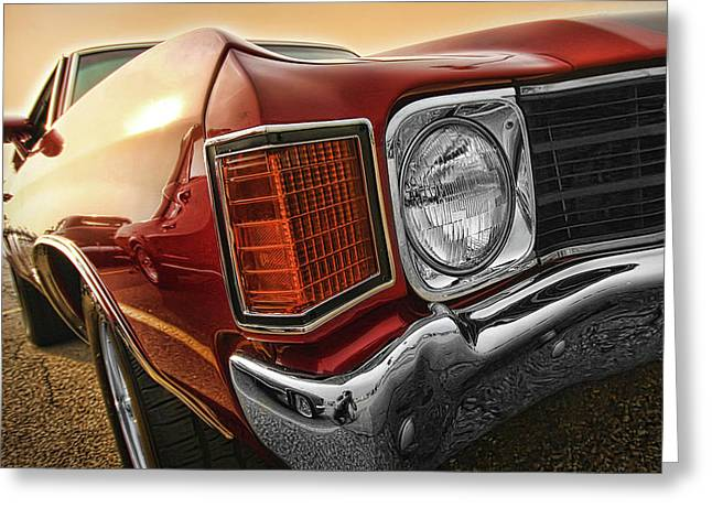 1972 Chevrolet Chevelle Ss  Greeting Card