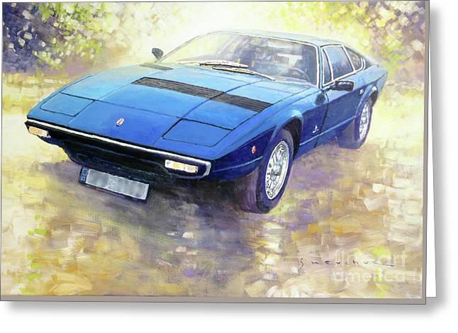 1972 Maserati Khamsin  Greeting Card