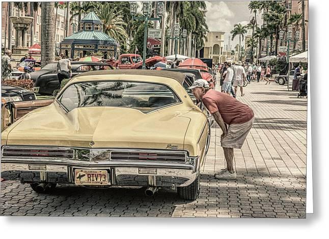 1973 Buick Riviera Greeting Card