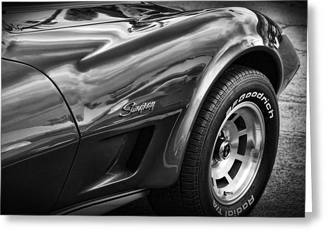 Carlisle Greeting Cards - 1973 Chevrolet Corvette Stingray Greeting Card by Gordon Dean II