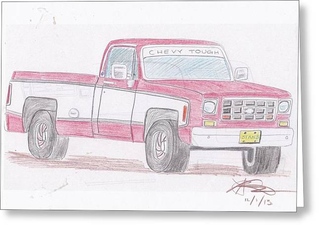 1978 Chevrolet Pickup Greeting Card