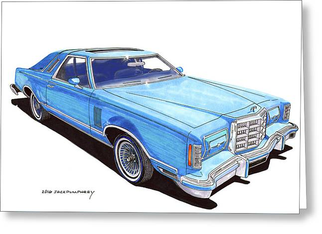 1979 Ford Thunderbird Greeting Card