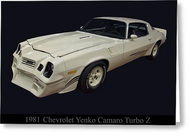 1981 Chevy Yenko Camaro Turbo Z Greeting Card by Chris Flees