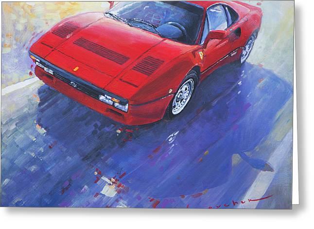 1984 Ferrari 288 Gto Greeting Card by Yuriy Shevchuk