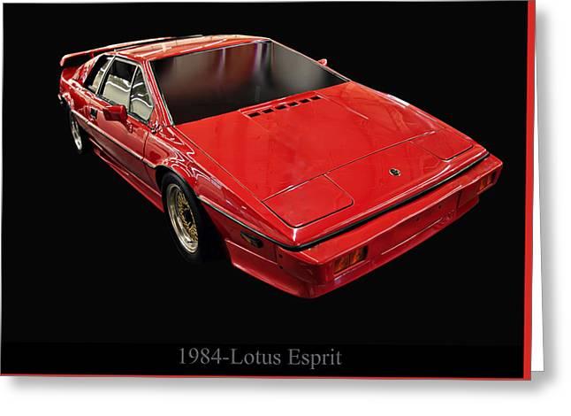 1984 Lotus Esprit Greeting Card by Chris Flees