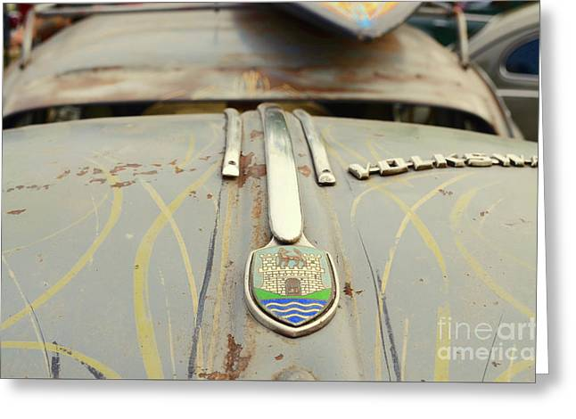 1958 Volkswagen Beetle Hot Rod Greeting Card by Jason Freedman