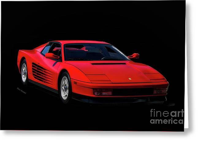 1987 Ferrari Testa Rossa Greeting Card