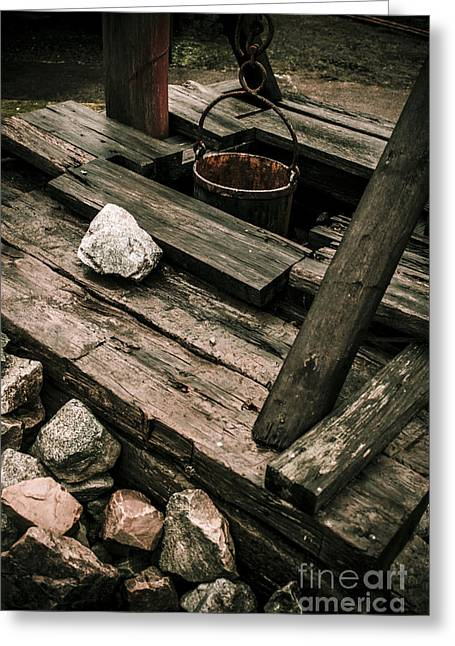 19th Century Shaft Mining Greeting Card by Jorgo Photography - Wall Art Gallery