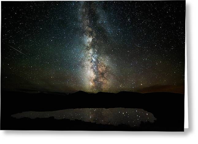 2 1/2 Mile High Milky Way Greeting Card by Darren White