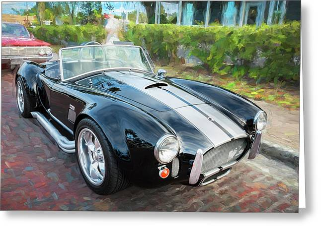 1965 Ford Ac Cobra Painted    Greeting Card by Rich Franco