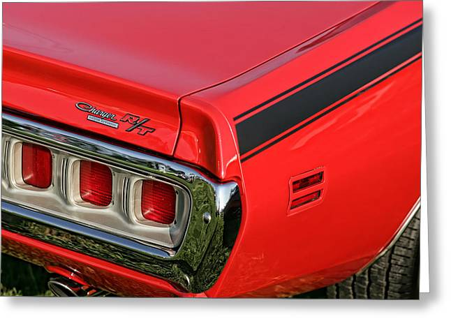 1971 Dodge Charger Rt Greeting Card by Gordon Dean II