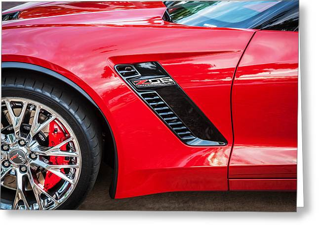 2015 Chevrolet Corvette Z06 Painted  Greeting Card by Rich Franco