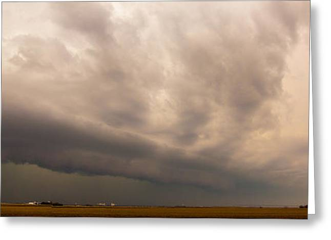 Greeting Card featuring the photograph 3rd Storm Chase Of 2015 by NebraskaSC