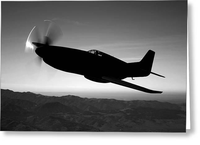 A Grumman F6f Hellcat Fighter Plane Greeting Card by Scott Germain